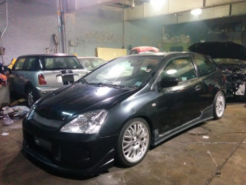 2002 Honda Civic si EP1 Performance Work